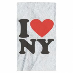 Рушник Люблю Нью Йорк
