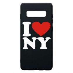Чохол для Samsung S10+ Люблю Нью Йорк