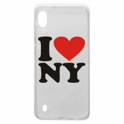 Чохол для Samsung A10 Люблю Нью Йорк