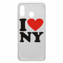 Чохол для Samsung A30 Люблю Нью Йорк