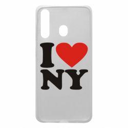 Чохол для Samsung A60 Люблю Нью Йорк