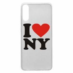 Чохол для Samsung A70 Люблю Нью Йорк