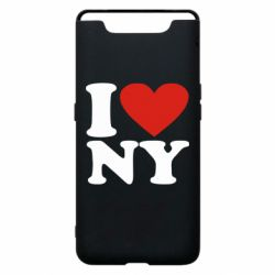 Чохол для Samsung A80 Люблю Нью Йорк
