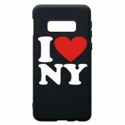 Чохол для Samsung S10e Люблю Нью Йорк