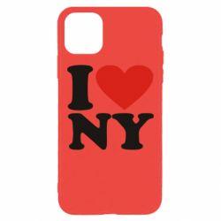 Чохол для iPhone 11 Pro Max Люблю Нью Йорк