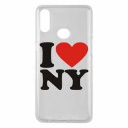 Чохол для Samsung A10s Люблю Нью Йорк