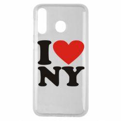 Чохол для Samsung M30 Люблю Нью Йорк