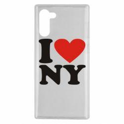Чохол для Samsung Note 10 Люблю Нью Йорк