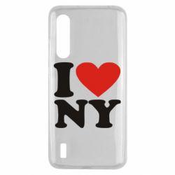 Чехол для Xiaomi Mi9 Lite Люблю Нью Йорк