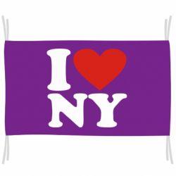 Прапор Люблю Нью Йорк