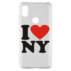 Чохол для Xiaomi Redmi S2 Люблю Нью Йорк