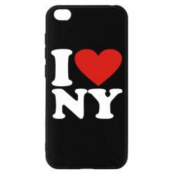 Чохол для Xiaomi Redmi Go Люблю Нью Йорк