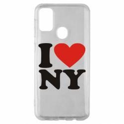 Чохол для Samsung M30s Люблю Нью Йорк