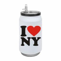 Термобанка 350ml Люблю Нью Йорк