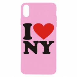 Чохол для iPhone X/Xs Люблю Нью Йорк