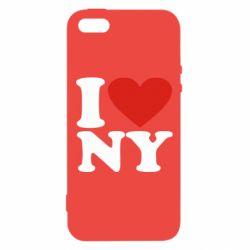 Чохол для iphone 5/5S/SE Люблю Нью Йорк