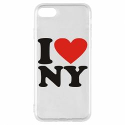 Чохол для iPhone 7 Люблю Нью Йорк