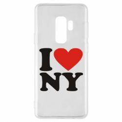 Чохол для Samsung S9+ Люблю Нью Йорк