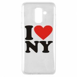 Чохол для Samsung A6+ 2018 Люблю Нью Йорк