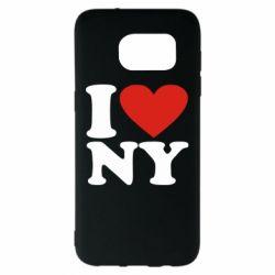 Чохол для Samsung S7 EDGE Люблю Нью Йорк