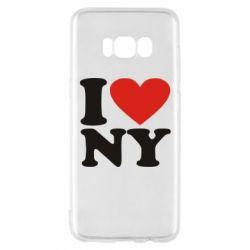 Чохол для Samsung S8 Люблю Нью Йорк