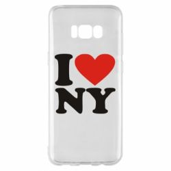 Чохол для Samsung S8+ Люблю Нью Йорк