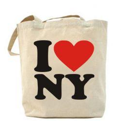 СумкаЛюблю Нью Йорк - FatLine