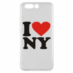 Чехол для Huawei P10 Люблю Нью Йорк - FatLine