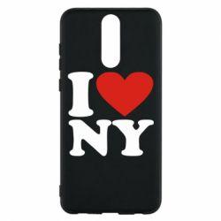 Чехол для Huawei Mate 10 Lite Люблю Нью Йорк - FatLine