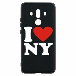 Чехол для Huawei Mate 10 Pro Люблю Нью Йорк - FatLine