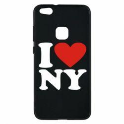 Чехол для Huawei P10 Lite Люблю Нью Йорк - FatLine