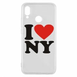 Чехол для Huawei P20 Lite Люблю Нью Йорк - FatLine