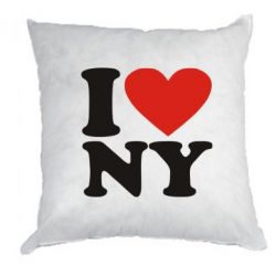 Подушка Люблю Нью Йорк - FatLine