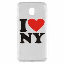 Чохол для Samsung J3 2017 Люблю Нью Йорк