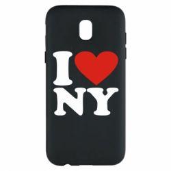Чохол для Samsung J5 2017 Люблю Нью Йорк