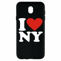 Чохол для Samsung J7 2017 Люблю Нью Йорк