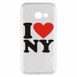 Чохол для Samsung A3 2017 Люблю Нью Йорк