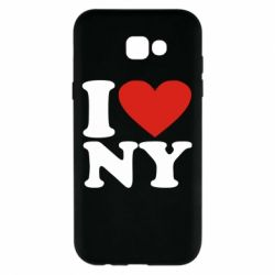 Чохол для Samsung A7 2017 Люблю Нью Йорк