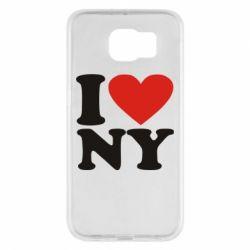 Чохол для Samsung S6 Люблю Нью Йорк