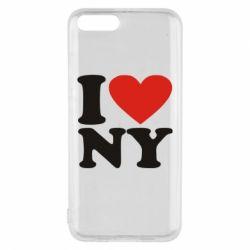 Чехол для Xiaomi Mi6 Люблю Нью Йорк