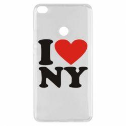 Чехол для Xiaomi Mi Max 2 Люблю Нью Йорк