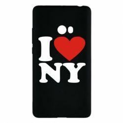 Чехол для Xiaomi Mi Note 2 Люблю Нью Йорк