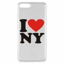 Чохол для Xiaomi Mi Note 3 Люблю Нью Йорк