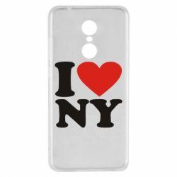Чехол для Xiaomi Redmi 5 Люблю Нью Йорк - FatLine