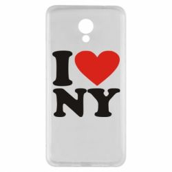 Чехол для Meizu M5 Note Люблю Нью Йорк - FatLine