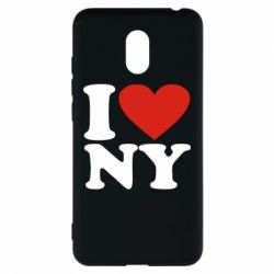 Чехол для Meizu M6 Люблю Нью Йорк - FatLine