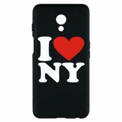Чехол для Meizu M6s Люблю Нью Йорк - FatLine