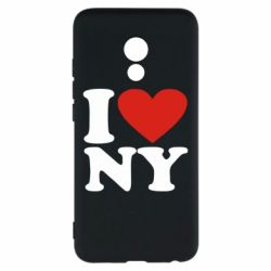 Чехол для Meizu Pro 6 Люблю Нью Йорк - FatLine