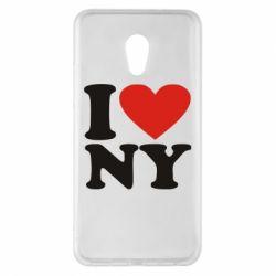 Чехол для Meizu Pro 6 Plus Люблю Нью Йорк - FatLine