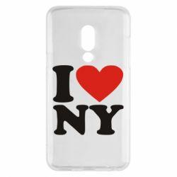Чехол для Meizu 15 Люблю Нью Йорк - FatLine